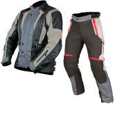 ARMR Moto Tottori 2 Jacket & Tottori Trousers Motorcycle Grey Kit