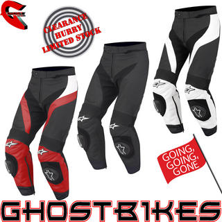 View Item Alpinestars GP Plus Leather Motorcycle Trousers
