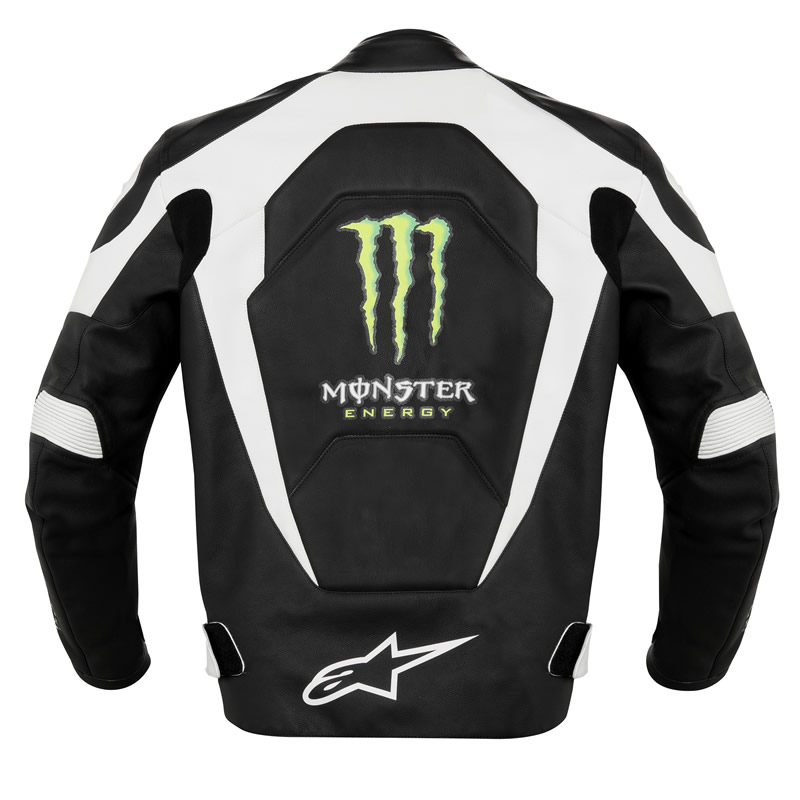 Leather Motorcycle Jacket With Armor ... LEATHER OFFICIAL MONSTER ENERGY MOTORCYCLE SPORTS BIKE JACKET | eBay