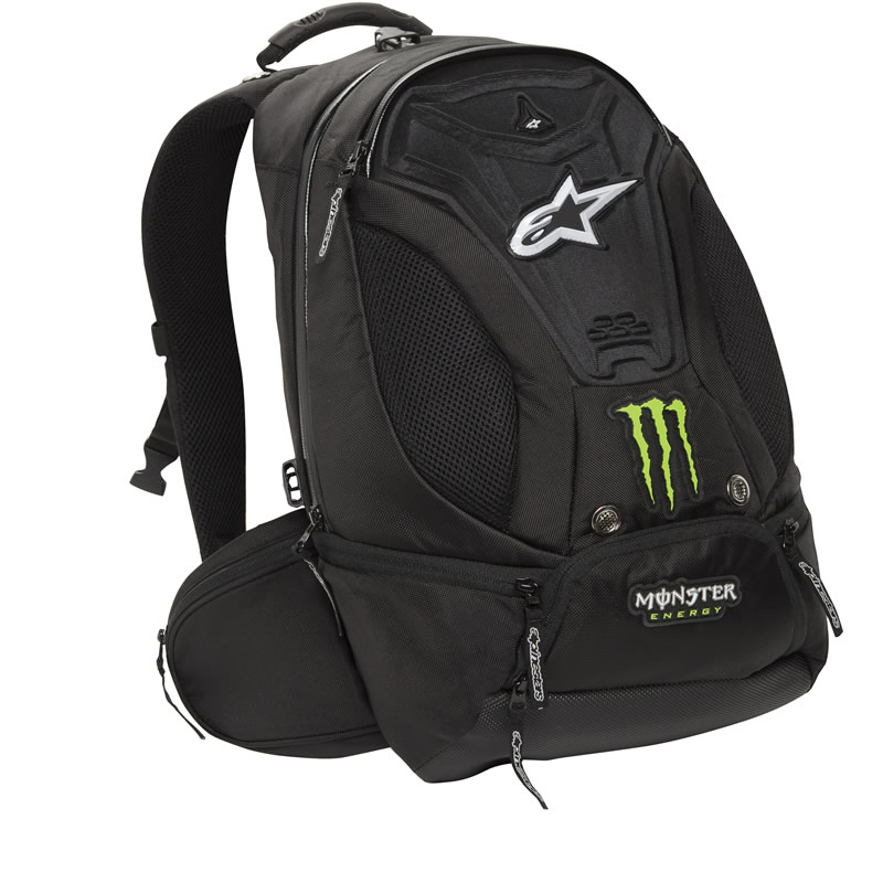 ALPINESTARS TERROR MONSTER ENERGY LIMITED EDITION RUCKSACK ...