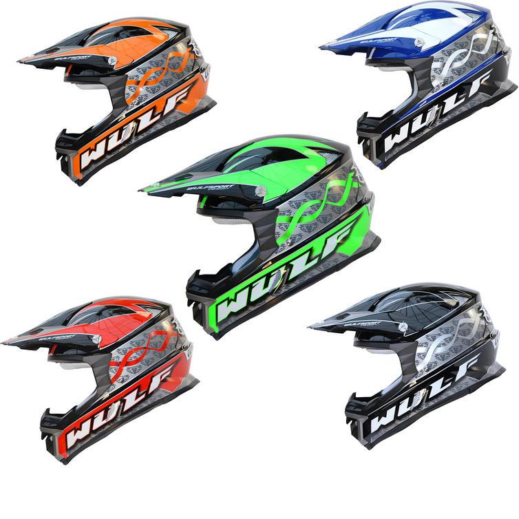 Wulf Arena Motocross Helmet