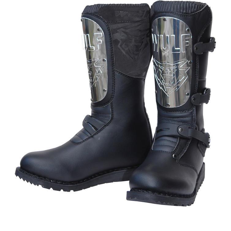 Wulf Black Knight Adventure Boots