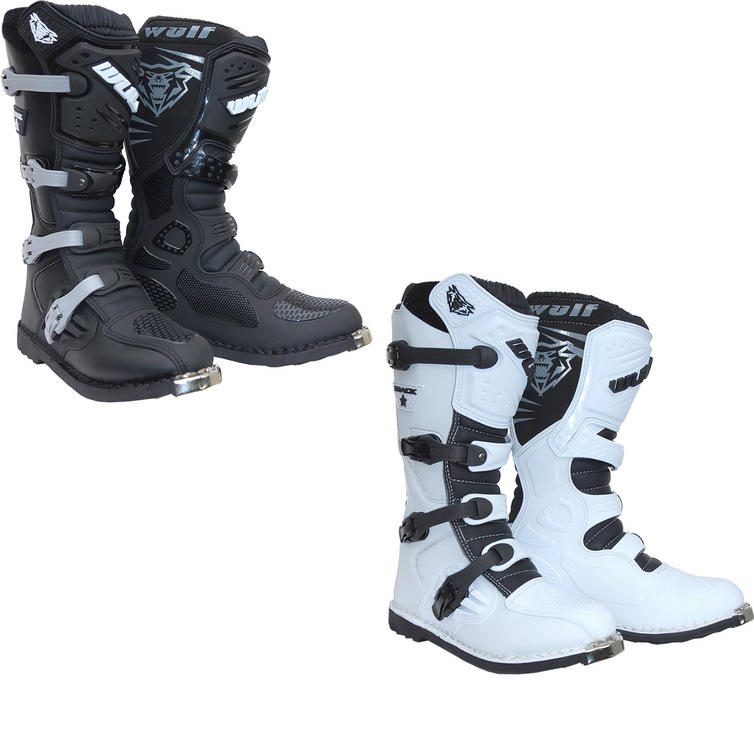 Wulf Track Star Motocross Boots