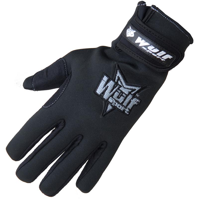 Wulf Neoprene Motocross Gloves Waterproof Off Road MX ATV Enduro Quad GhostBikes