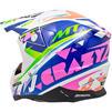 MT Synchrony Crazy Motocross Helmet Thumbnail 10