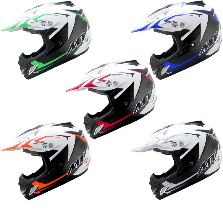 MT Synchrony MX2 Steel Kids Motocross Helmet