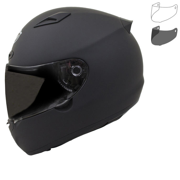 MT Matrix Solid Motorcycle Helmet & Visor