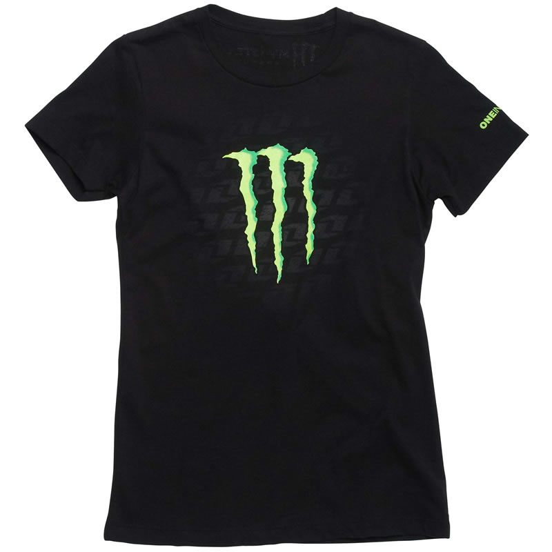one industries official monster energy womens kirby tee. Black Bedroom Furniture Sets. Home Design Ideas