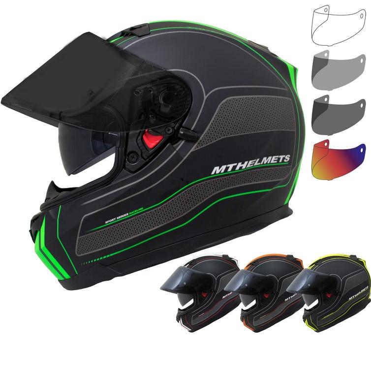 MT Blade SV Race Line Motorcycle Helmet & Visor