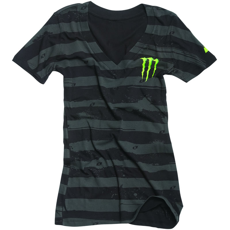 one industries official monster energy womens thrill tee. Black Bedroom Furniture Sets. Home Design Ideas