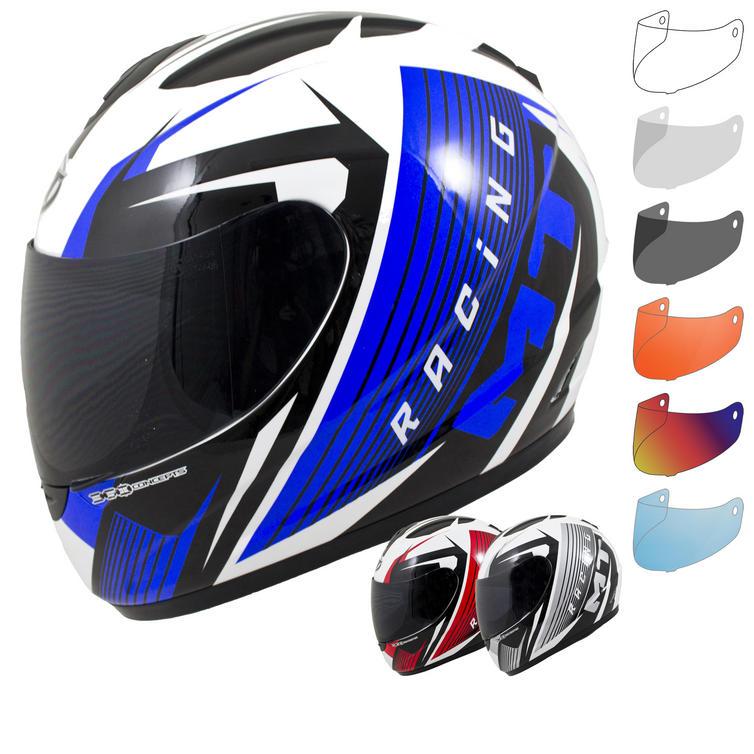 MT Thunder Axe Motorcycle Helmet & Visor
