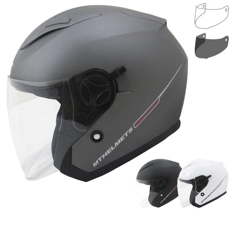 MT Boulevard SV Open Face Motorcycle Helmet & Visor