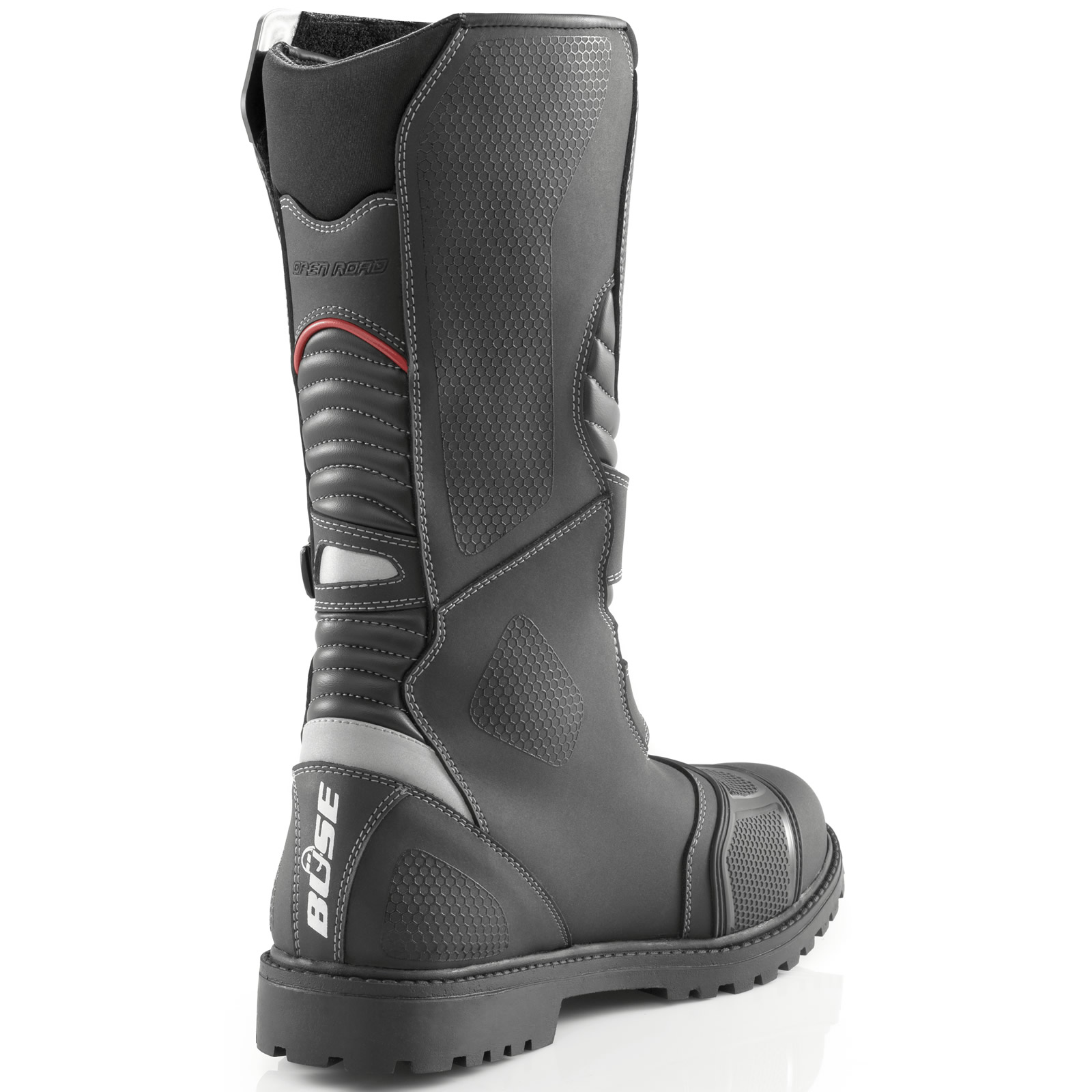 Buse Open Road Adventure Motorcycle Boots Motorbike Off Road Green ...