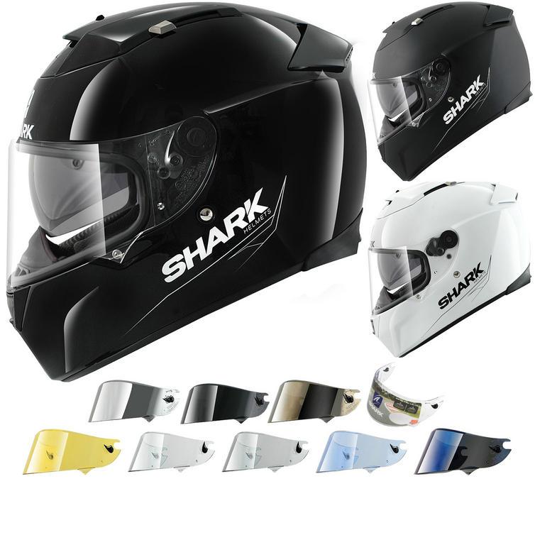 Shark Speed-R Blank II Motorcycle Helmet & Visor