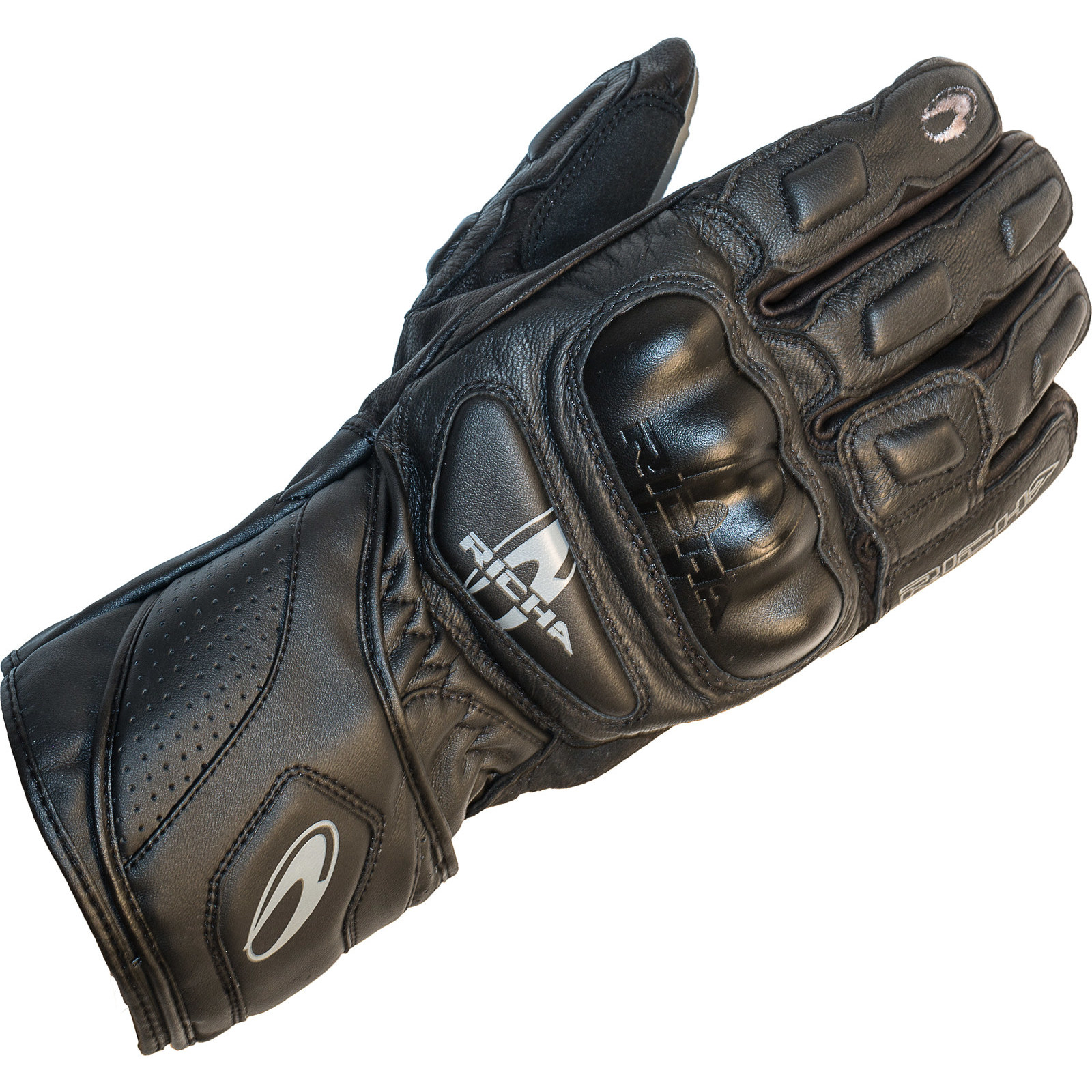 Motorcycle gloves richa - Richa Rs 86 Sports Leather Motorcycle Gloves Motorbike