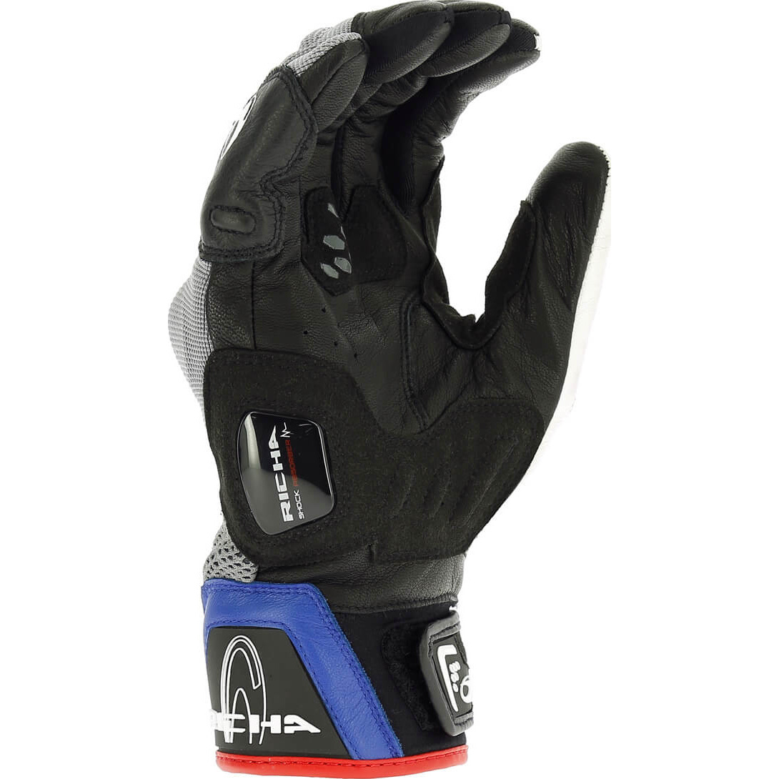 Motorcycle Gloves For Short Fingers - Richa desert motorcycle gloves bike short street vented