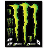View Item One Industries Monster Energy Claw Large Sticker Set