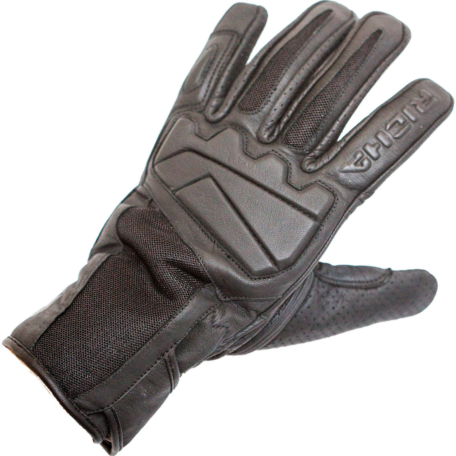 Motorcycle gloves richa - Richa Breeze Leather Motorcycle Gloves Mens Perforated Mid