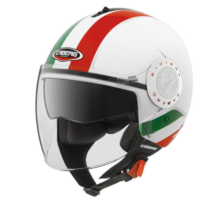 Caberg Riviera V3+ Italia Open Face Motorcycle Helmet