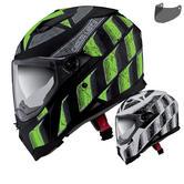 Caberg Stunt Steez Motorcycle Helmet & Visor