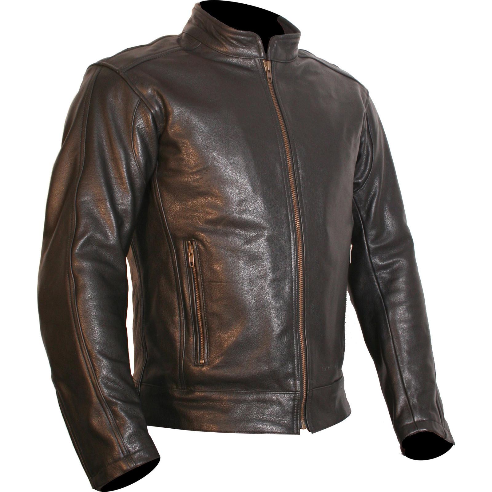 Buffalo Navigator Leather Motorcycle Jacket Cruiser ...