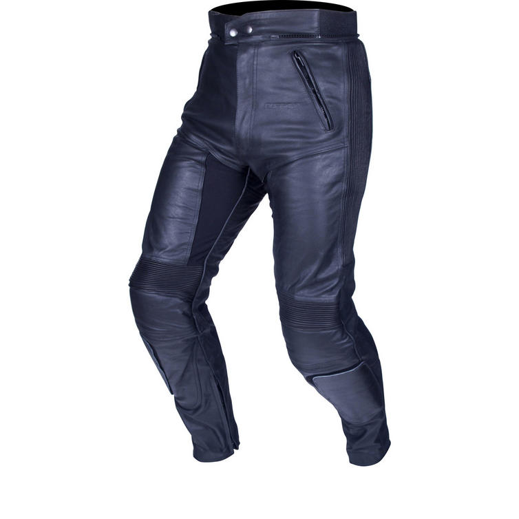 Image of Buffalo Raptor Leather Motorcycle Jeans