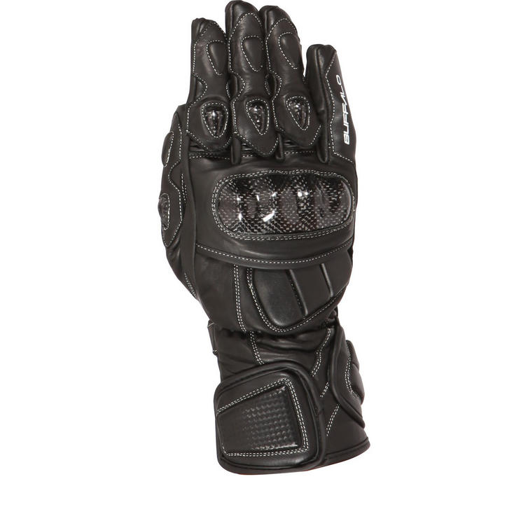Buffalo Orion Leather Motorcycle Gloves