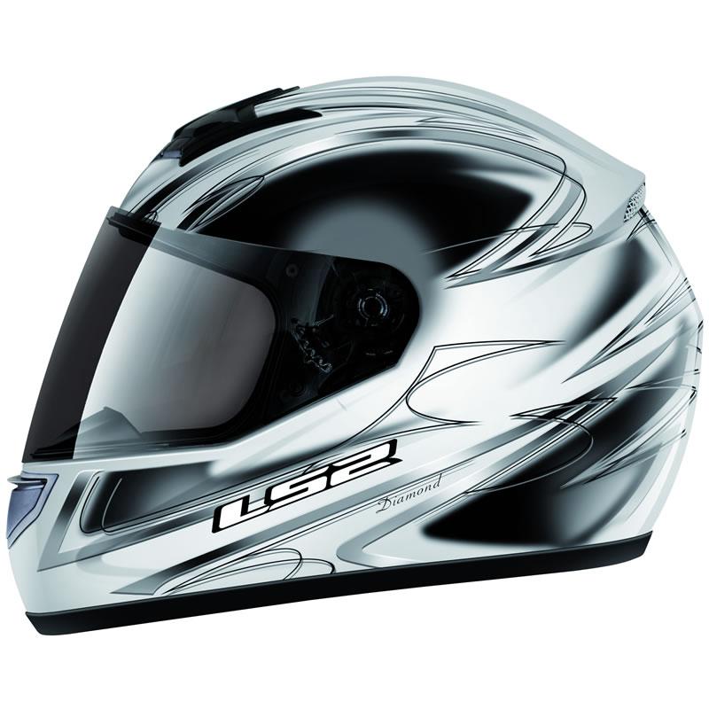 Diamond Full Face Lightweight motorbike Motorcycle Crash Helmet