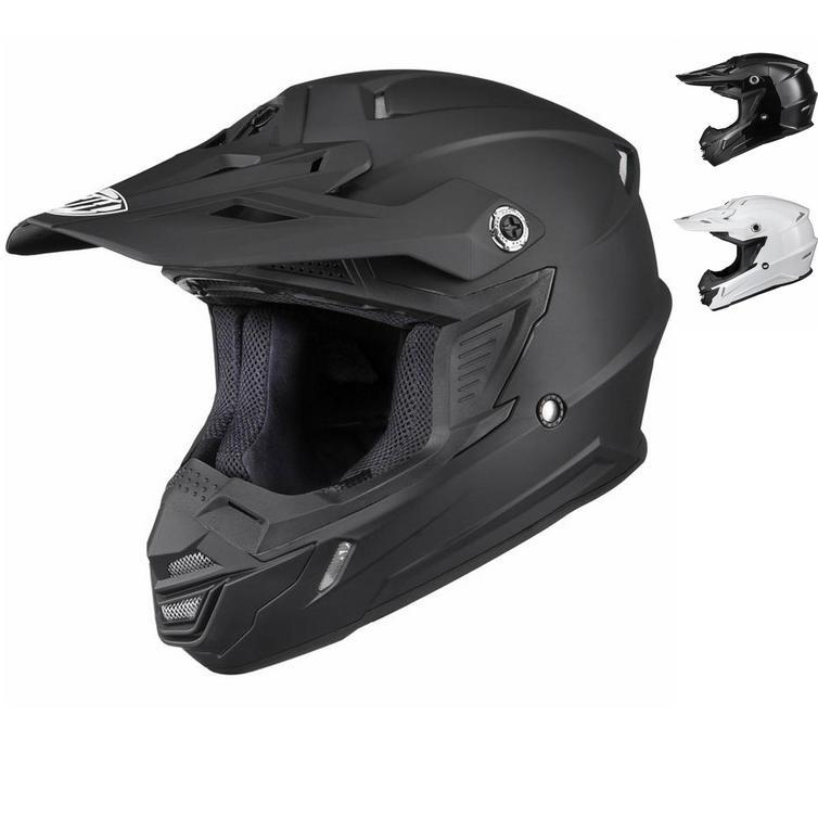 THH TX-15 Plain Motocross Helmet