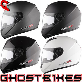 View Item LS2 FF351 Single Mono Motorcycle Helmet