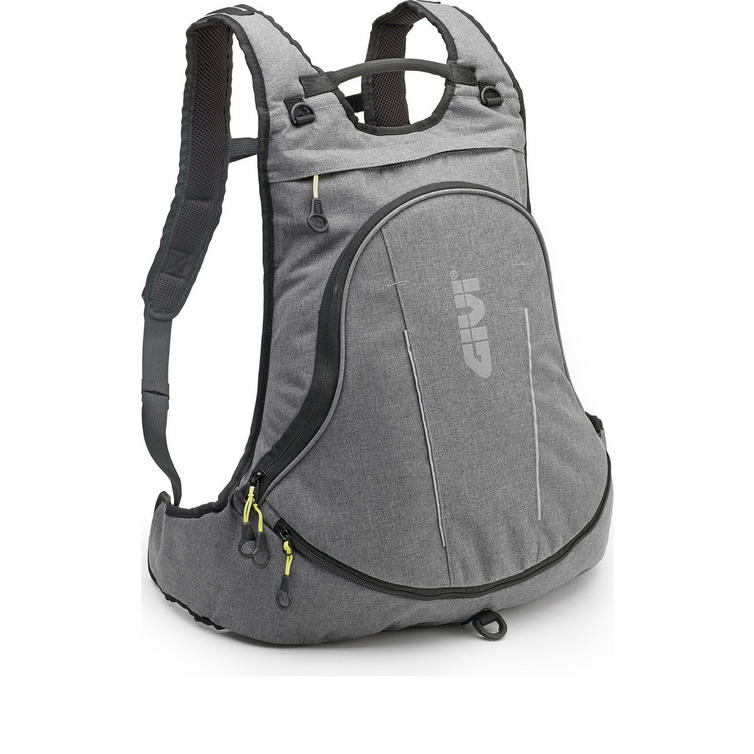 Givi Easy-T Range Expandable Rucksack with Helmet Bag 22L Urban Grey (EA104GR)
