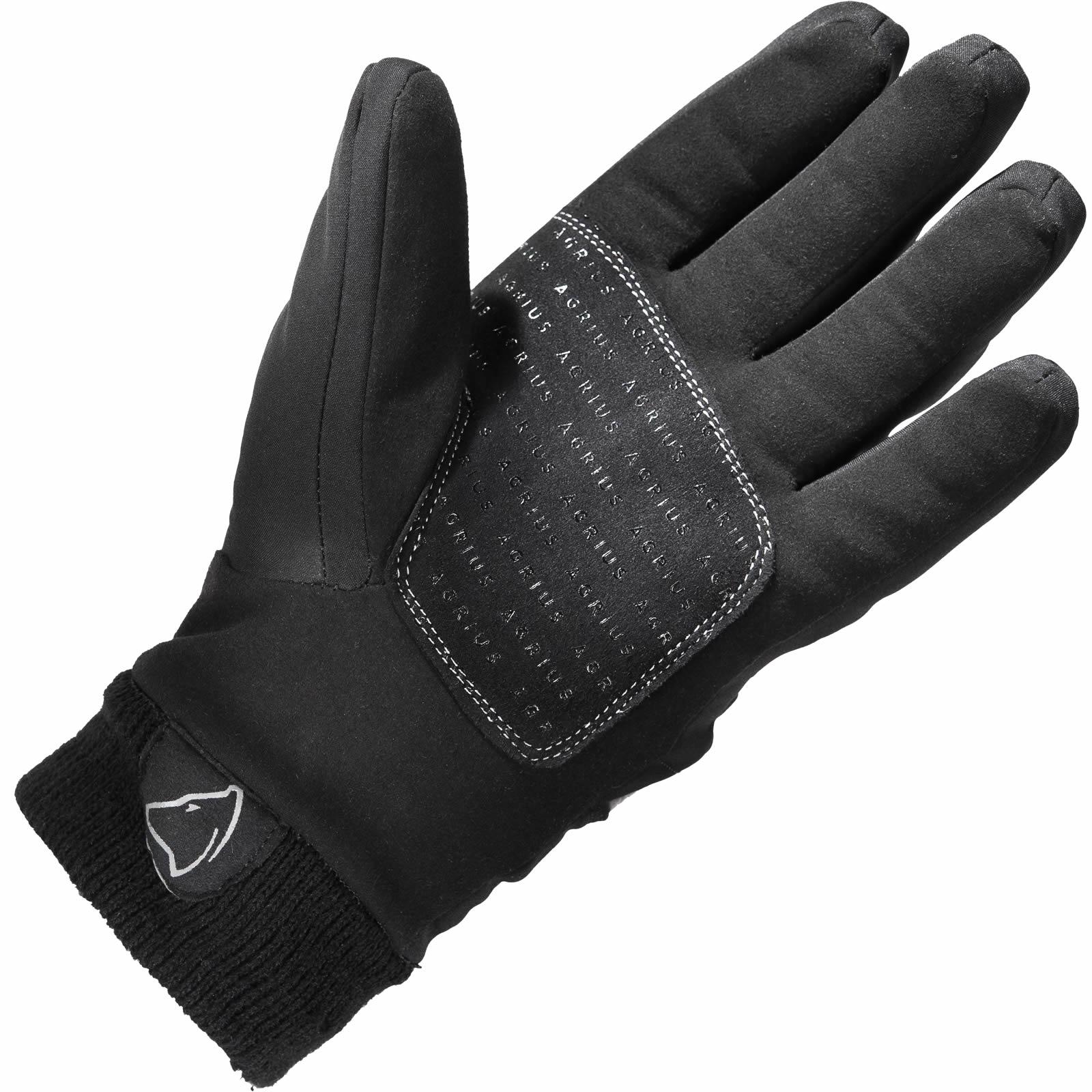 Motorcycle knuckle gloves - Agrius Ajax Waterproof Motorcycle Gloves Motorbike Hard Knuckle