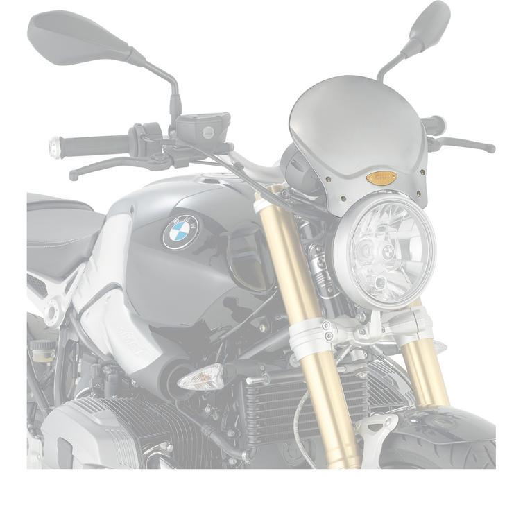 Givi Cafe Racer Aluminium Universal Screen (100AL)