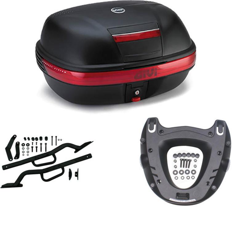 Givi 46L Topcase Kit for Honda VFR 800 98-01 (E460N / M5 Monokey / 257FZ)