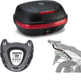 Givi 46L Topcase Kit for Honda VFR 800 VTEC 02-11 (E460N / M5 Monokey / 166FZ)