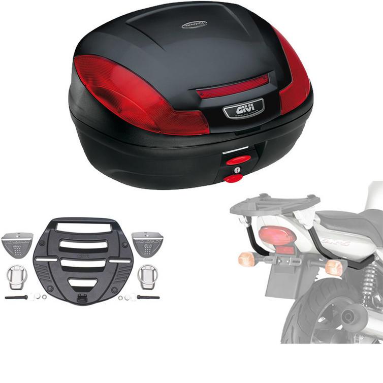 Givi 47L Topcase Kit for Kawasaki ER-5 500 01-07 (E470N / MM Monolock / 440F)