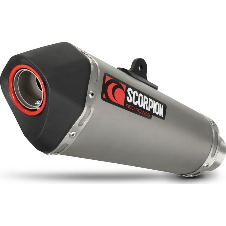Scorpion Serket Taper Titanium Oval Exhaust - KTM DUKE 390 3/4 System 2013-Current