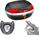 Givi 46L Topcase Kit for Honda CB1300 & 1300 S 03-09 (V46N / M5 Monokey / 259FZ)