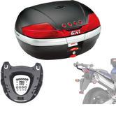 Givi 46L Topcase Kit for Honda CB 600 F Hornet 03-06 (V46N / M5 Monokey / 258FZ)