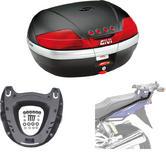 Givi 46L Topcase Kit for Suzuki GSX 1400 02-09 (V46N / M5 Monokey / 527FZ)