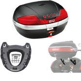 Givi 46L Topcase Kit for Kawasaki Versys 650 06-09 (V46N / M5 Monokey / 447FZ)