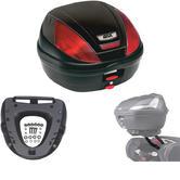Givi 39L Topcase Kit for Kawasaki ER-6N & ER-6F (E370N / M5M Monolock / 4104FZ)