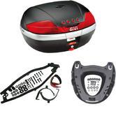 Givi 46L Topcase Kit for Yamaha FZ6 600 Fazer S2 (V46N / M5 Monokey / 351FZ)