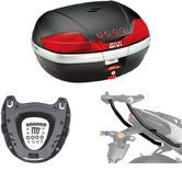 Givi 46L Topcase Kit for Yamaha FZ8 & Fazer 8 800 (V46N / M5 Monokey / 366FZ)