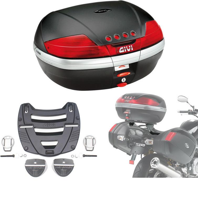 Givi 46L Topcase Kit for Yamaha XJR 1300 07-14 (V46N / M3 Monokey / 361F)