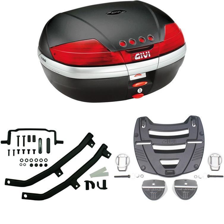Givi 46L Topcase Kit for Yamaha TDM 850 96-01 (V46N / M3 Monokey / 336F)