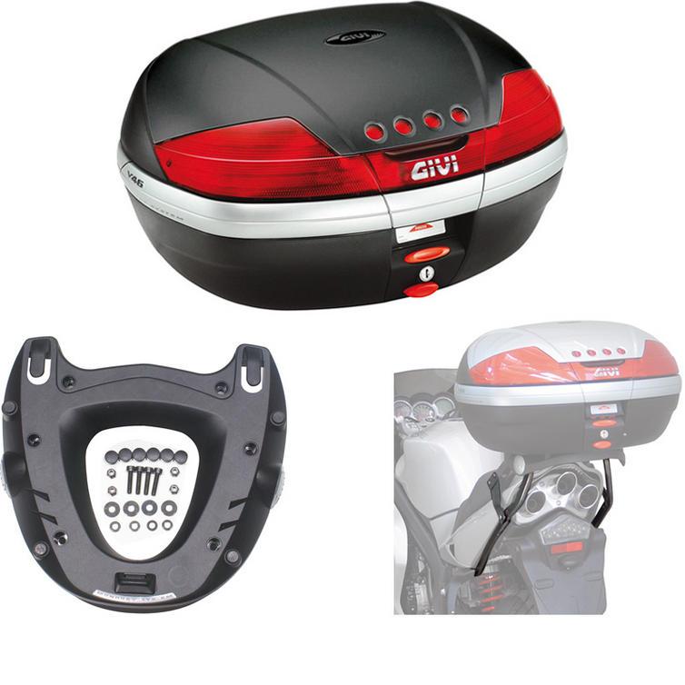 Givi 46L Topcase Kit for Triumph ST 1050 Sprint (V46N / M5 Monokey / 762FZ)