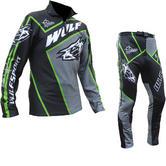Wulf Arena Cub Black Green Trials Kit
