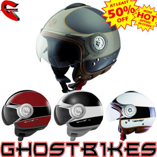 LS2 OF536 Cruiser Open Face Motorcycle Helmet