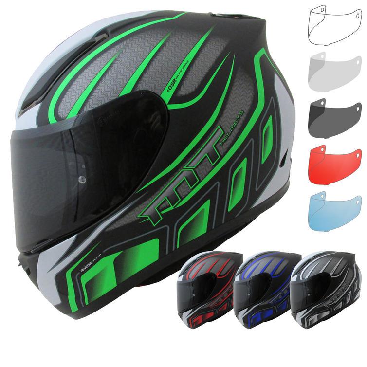 MT Revenge Alpha Motorcycle Helmet & Visor